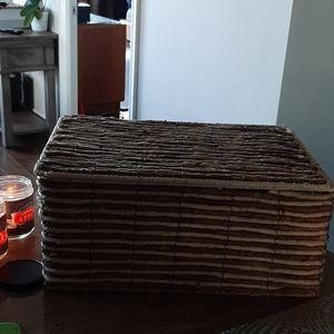 Wicker storage box (Large)